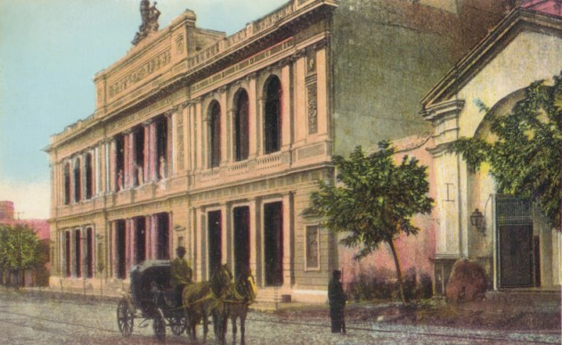 Teatro Rivera Indarte coloreado