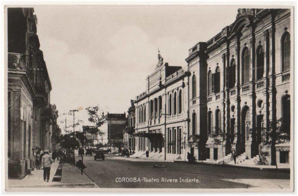 Teatro Rivera Indarte postal