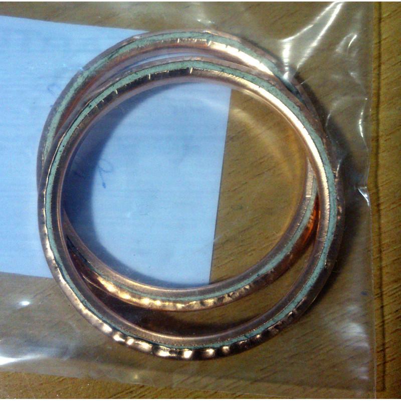 copper exhaust gasket bultaco mercurio metralla tralla saturno