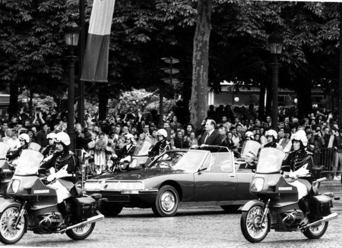 El SM Présidentielle y François Mitterand en 1981.