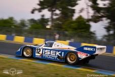 Un Porsche 956 de 1985 sobre dos ruedas