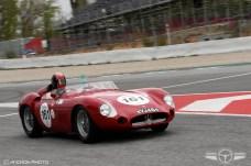 El Maserati 300S de 1957 del español Guillermo Fierro.