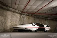 Encontrarse con el Ferrari Módulo Pininfarina en un garaje es toda una sorpresa.
