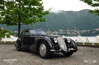 The Best of Show, el Alfa Romeo 8c 2900 Touring de 1937.