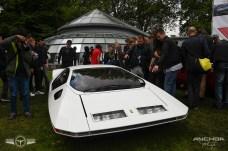 El Ferrari Modulo Pininfarina seguramente fue el coche que más admiración despertó.