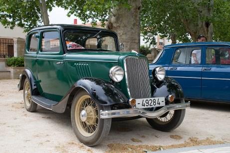 Premio al vehículo más antiguo: Ford Y de 1934