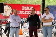 Vicente Fuster Clavijo, Concejal de Deportes del M.I. Ayuntamiento de Utiel, agradeció a la Escudería Motor Clásico la Plana de Utiel la celebración en el pueblo de la XV Concentración de Vehículos Clásicos e Históricos Utiel Viña de España.
