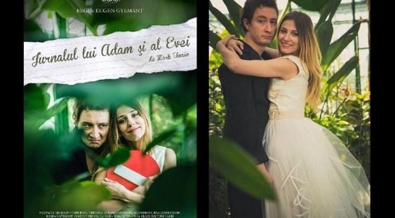 Jurnalul lui Adam și al Evei, de Mark Twain, la Godot Cafe-Teatru