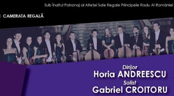 Recital de excepţie al Cameratei Regale, alături de Horia Andreescu şi Gabriel Croitoru