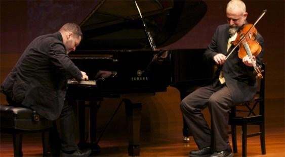 Lucian Ban şi Mat Maneri, invitații ICR Budapesta