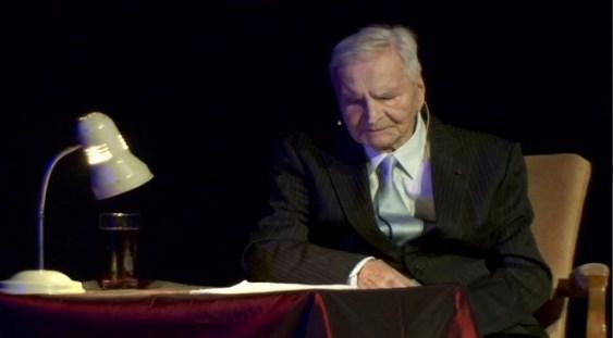Maestrul Radu Beligan – pentru ultima oară la Teatrul Naţional din Bucureşti!