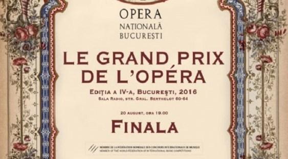 "Premiile ""Le Grand Prix de l'Opera"", ediţia a IV-a"