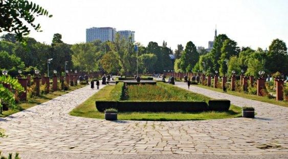 Folk în Parcul Herăstrău
