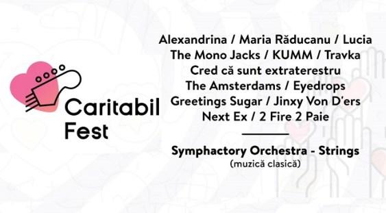 1 IUNIE: Caritabil Fest – Symphactory Orchestra, Alexandrina, Lucia şi mulţi alţii cântă pentru 3 copii care au câştigat lupta cu cancerul