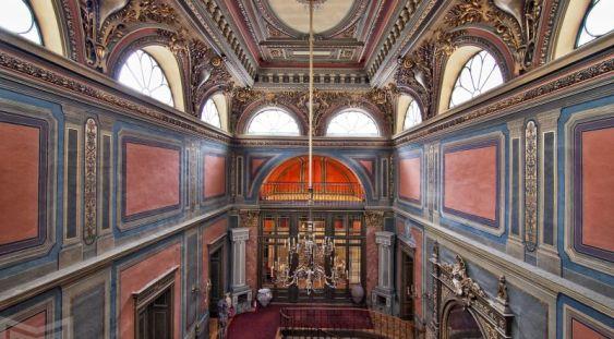 """Spectacolul multimedia """"Timpul"""", la Palatul Suțu"""