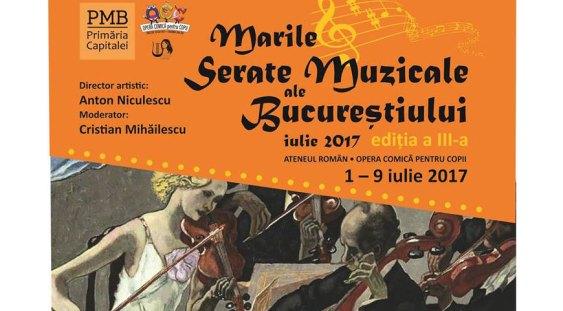 Marile serate muzicale ale Bucureștiului