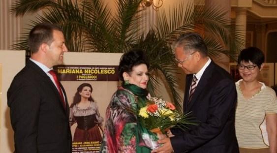 """Soprana Mariana Nicolesco, la finalul Festivalului Darclee : """"Am trăit o exaltantă sărbătoare a muzicii"""""""