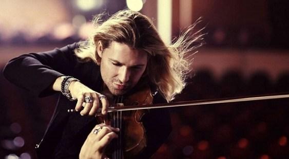 Violonistul David Garrett – două concerte la Bucureşti