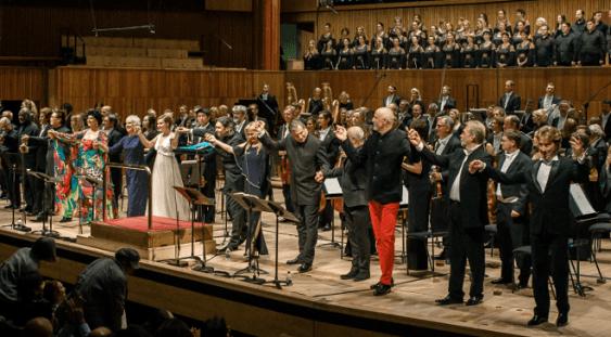 """Ovaţii pentru opera """"Oedipe"""" de Enescu la Royal Festival Hall din Londra"""