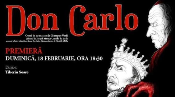 """Premieră cu opera """"Don Carlo"""" @ ONB"""