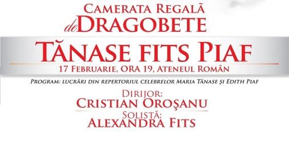 Camerata Regală & Tănase Fits Piaf, călătorie muzicală de excepție la Ateneul Român