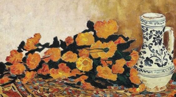 Un tablou de Ştefan Luchian, cotat la peste 100.000 de euro, va fi scos la licitaţie