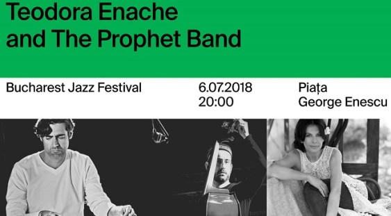 Concert Teodora Enache & The Prophet Band