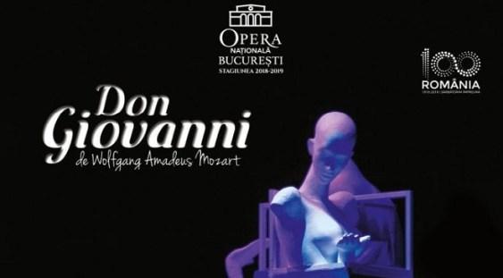 """""""Don Giovanni"""", pe scena Operei Naționale București"""