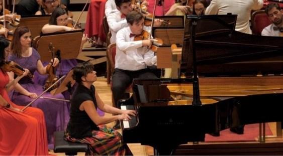 """Pianista Oxana Corjos deschide, la Londra, sezonul de toamnă al Seriei """"Concertelor Enescu"""""""