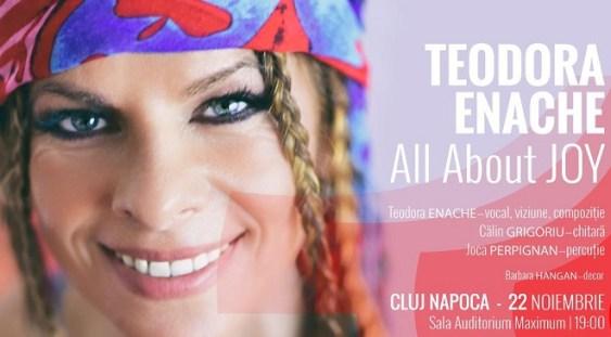 Teodora Enache pune în scenă bucuria în cheie jazz!