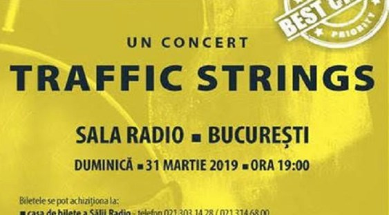Perpetuum Jazz cu Traffic Strings la Sala Radio