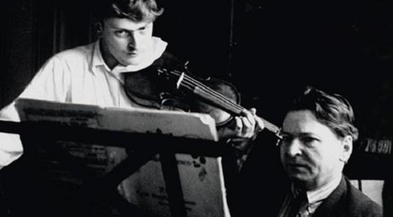 Mari interpreți/Mari Compozitori: George Enescu & Yehudi Menuhin