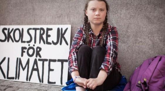 Greta Thunberg, activistă pentru mediu la doar 16 ani, nominalizată la premiul Nobel pentru pace