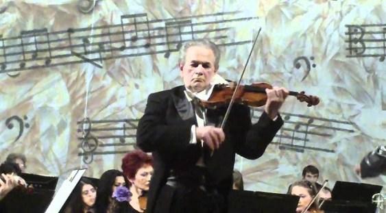 Dirijorul Christian Badea și violonistul Daniel Podlovschi, pentru prima oară împreună pe o scenă de concert
