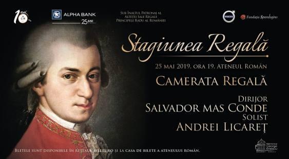 Stagiunea Regală – Camerata Regală – Concert 100% Mozart