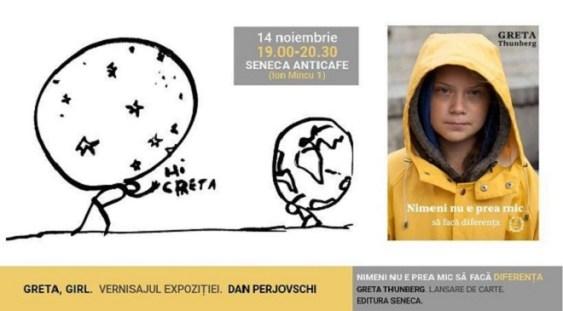 Cartea Gretei Thunberg va fi lansată și în România
