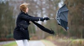 Cod galben de furtuni în peste trei sferturi din țară