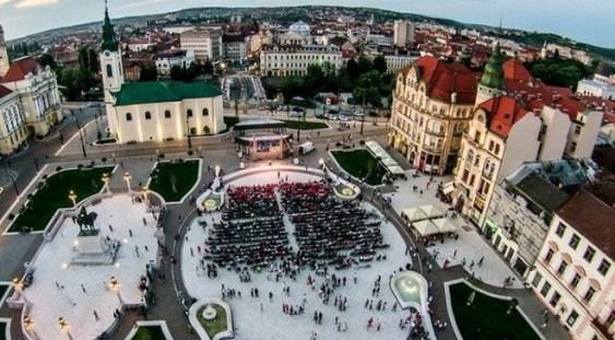 Un nou concert în aer liber la Oradea