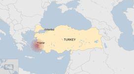 Cutremur cu magnitudinea 7 în Turcia și Grecia