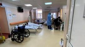 """""""Terapia Intensivă s-a mutat pe holuri"""". Imagini dramatice din Institutul Matei Balș"""