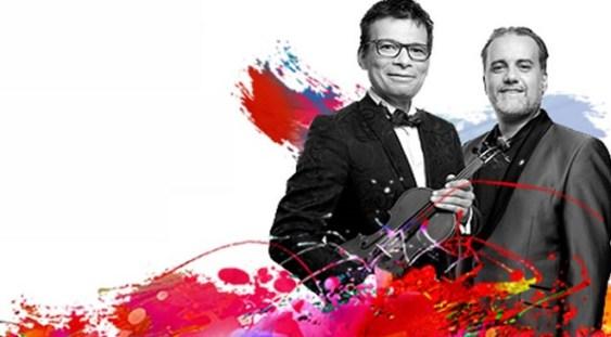"""Turneul """"Stradivarius"""" cu violonistul Alexandru Tomescu şi pianistul Josu de Solaun"""