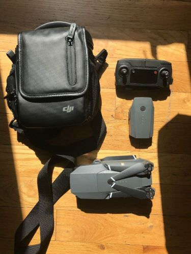 DJI Mavic Pro Drone Fly More Combo + 3 Batteries