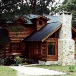 casa de troncos 9