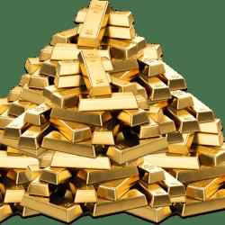 1000kg-gold