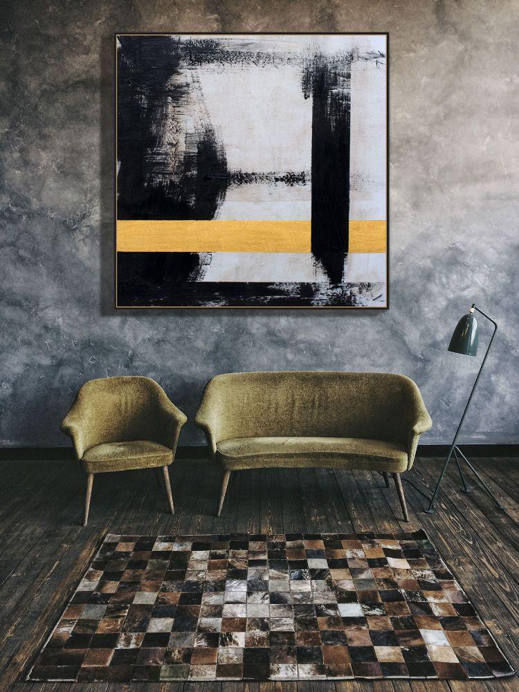 abstracto-lineas-negras-y-doradas-de-copiamuseo