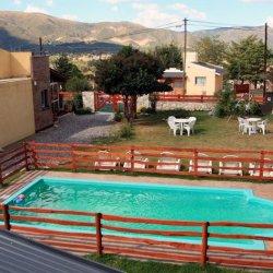 1 Cabañas El Dominador vista piscina