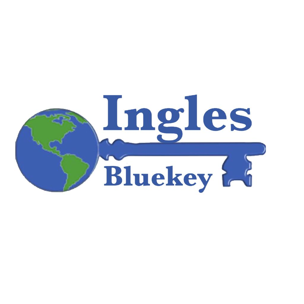 Ingles Bluekey Logo