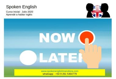 Learn to speak English now !