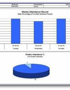 Weekly attaendance chart also attendance sheet rh class templates