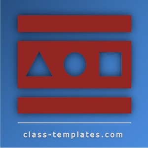 Class Templates  Resources for Teachers Trainers and Instructors